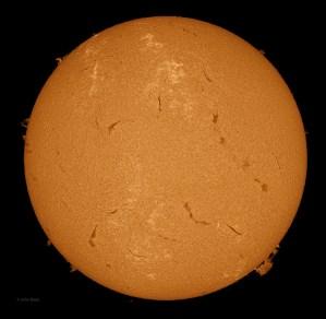 Sun 5-29-2013, Sunspot AR 1756