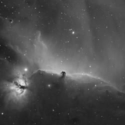 Horse Head nebula, Flame nebula,