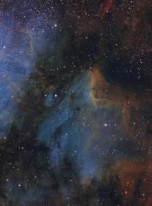 IC 5070, IC 5067, Pelican Nebula