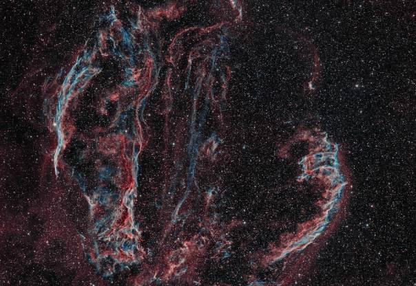 NGC 6992, NGC 6960, NGC 6979, NGC 6974, Pickering's Triangle