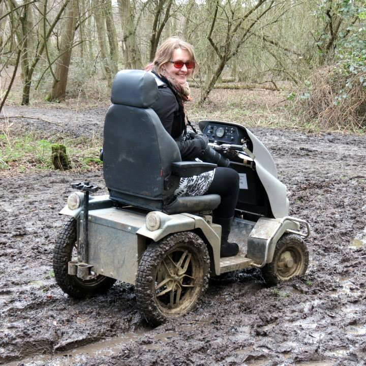 Tramper in mud