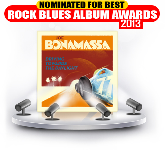 Bonamassa DTTD DVD BMA Nominatioin