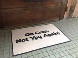 Doormat from High Cotton Gifts