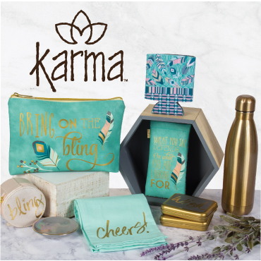J Brandes offers Karma gifts
