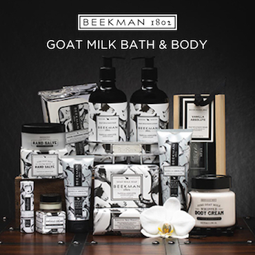 J Brandes carries Beekman 1802 products
