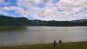 Lac de Furnas et caldeira