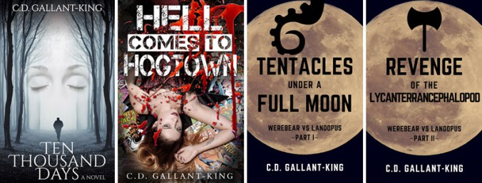 Books by C.D. Gallant King