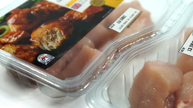 Chicken Breast Diced Photo - Proseal