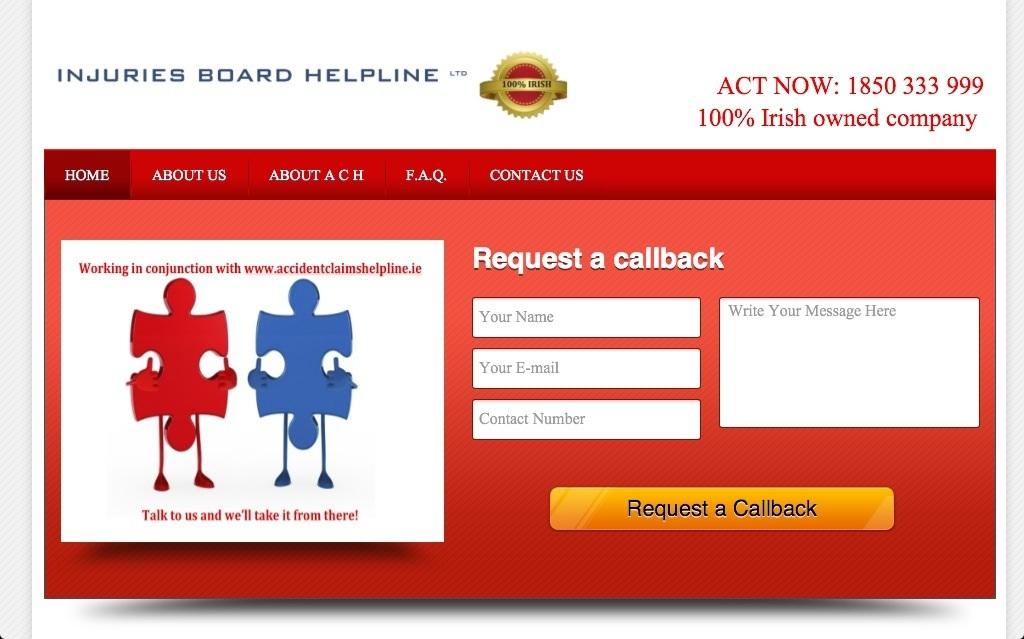 Injuries Board Helpline