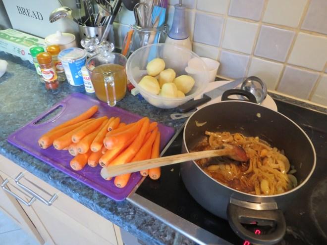 Grandads Carrot Soup - Ingredients