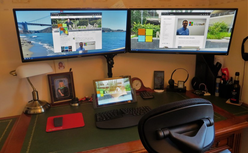 How to daisy chain multiple monitors on a Surface Pro 3 ...