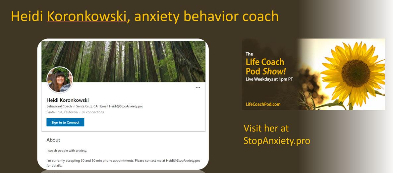 Managing Anxiety with Heidi Koronkowski
