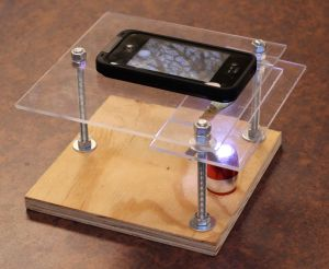 Microscope iphone
