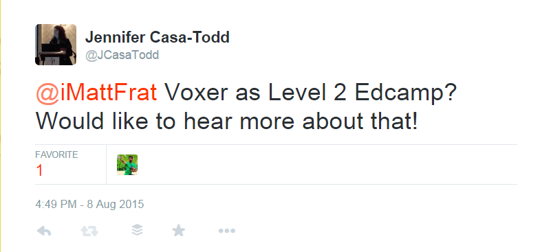 Move over Twitter, I kind of love Voxer now | Jennifer Casa Todd