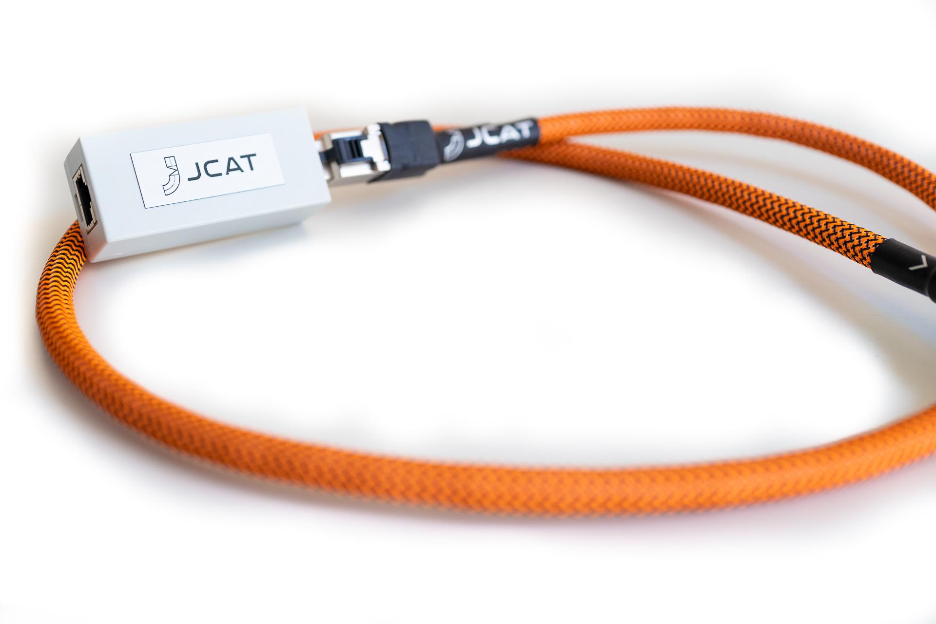 JCAT audiophile network isolator
