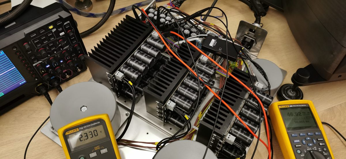 OPTIMO ATX prototype - world's first truly linear ATX power supply