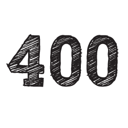 400-rayado
