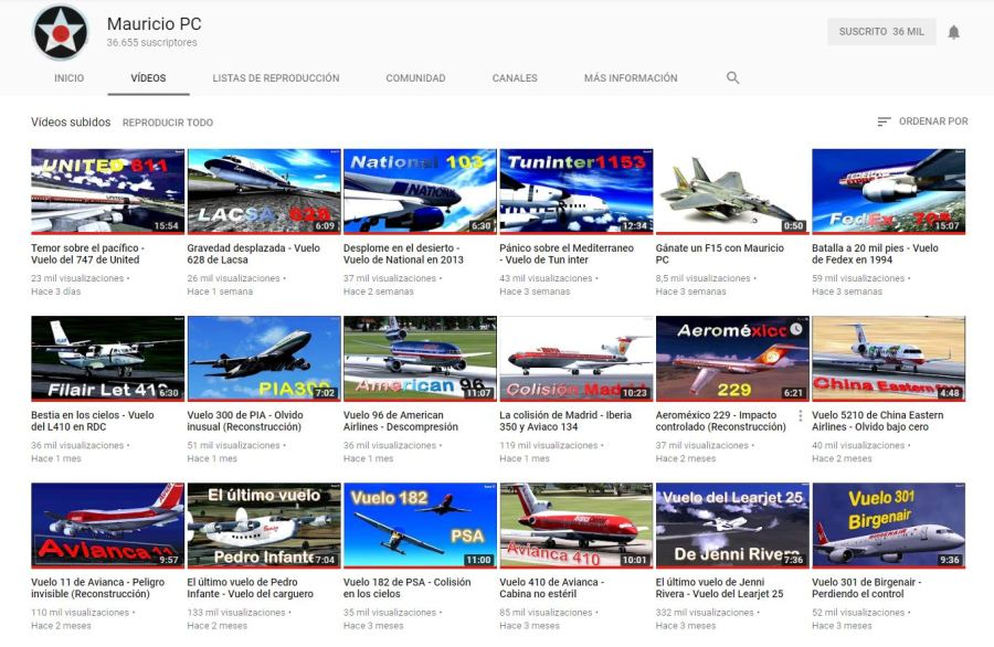 Recomiendo canal de Youtube