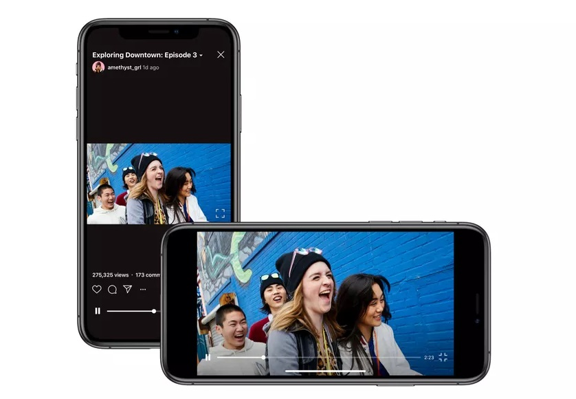 Vídeos horizontales