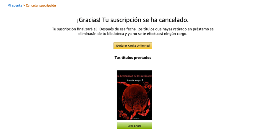 Kindle Unlimited de Amazon