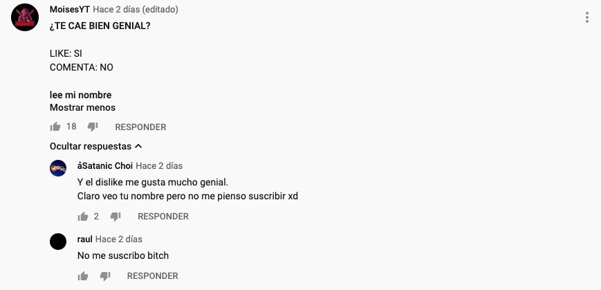 Cómo obtener cientos de likes en un comentario en Youtube