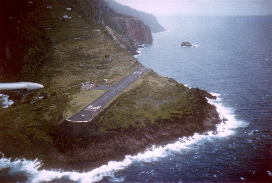 El aeropuerto más pequeño del mundo