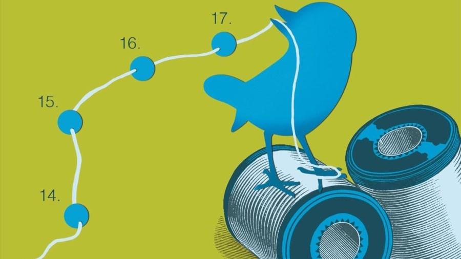 hilos de Twitter