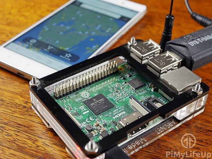 Proyecto en conjunto con Raspberry y Flightradar24
