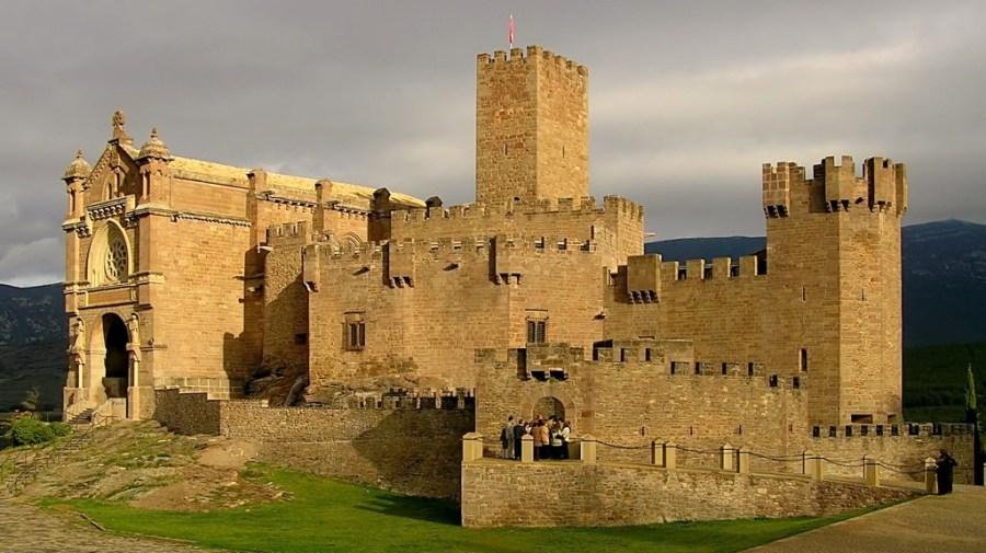 Este es el castillo de Javier (Navarra)