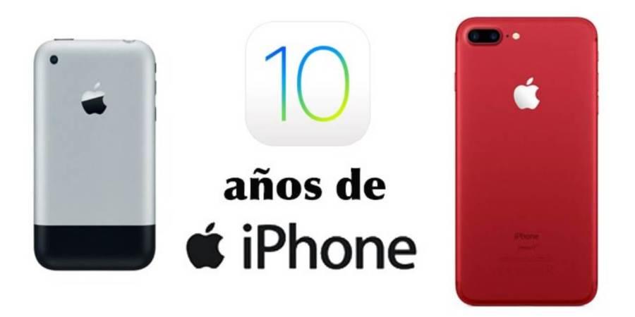 10 años usando iPhone