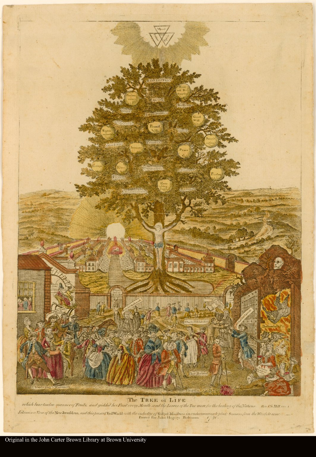 The Tree Of Life Which Bear Twelve Manner Of Fruits