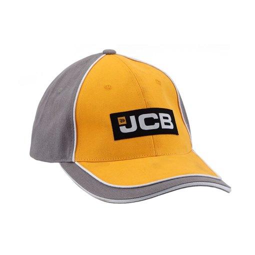 JCB Yellow Grey Cap