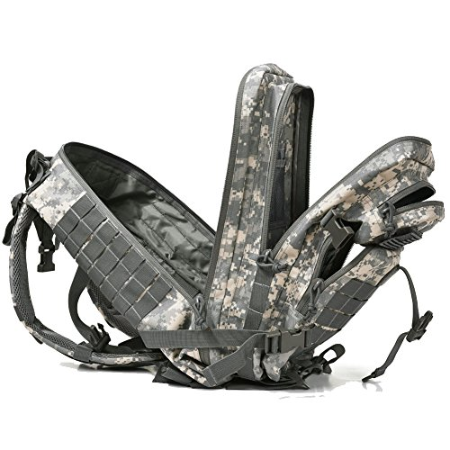 REEBOW GEAR Military Tactical Backpack Large Army 3 Day Assault Pack Molle Bag Backpacks camo