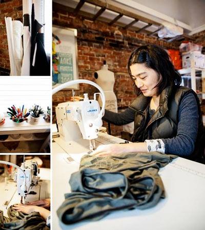 Hitoko-Okada-In-Studio