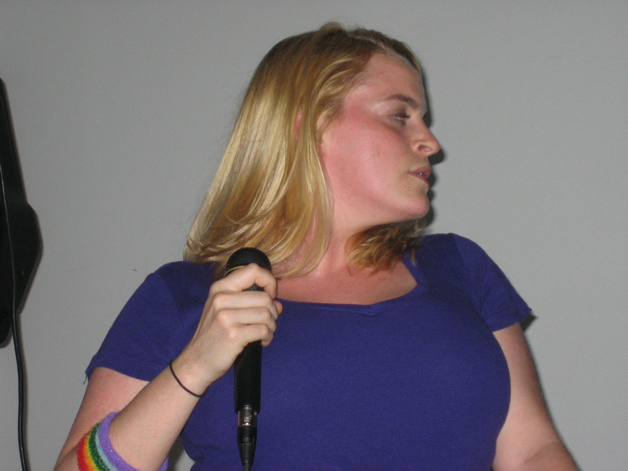 Performing at Cat's birthday party