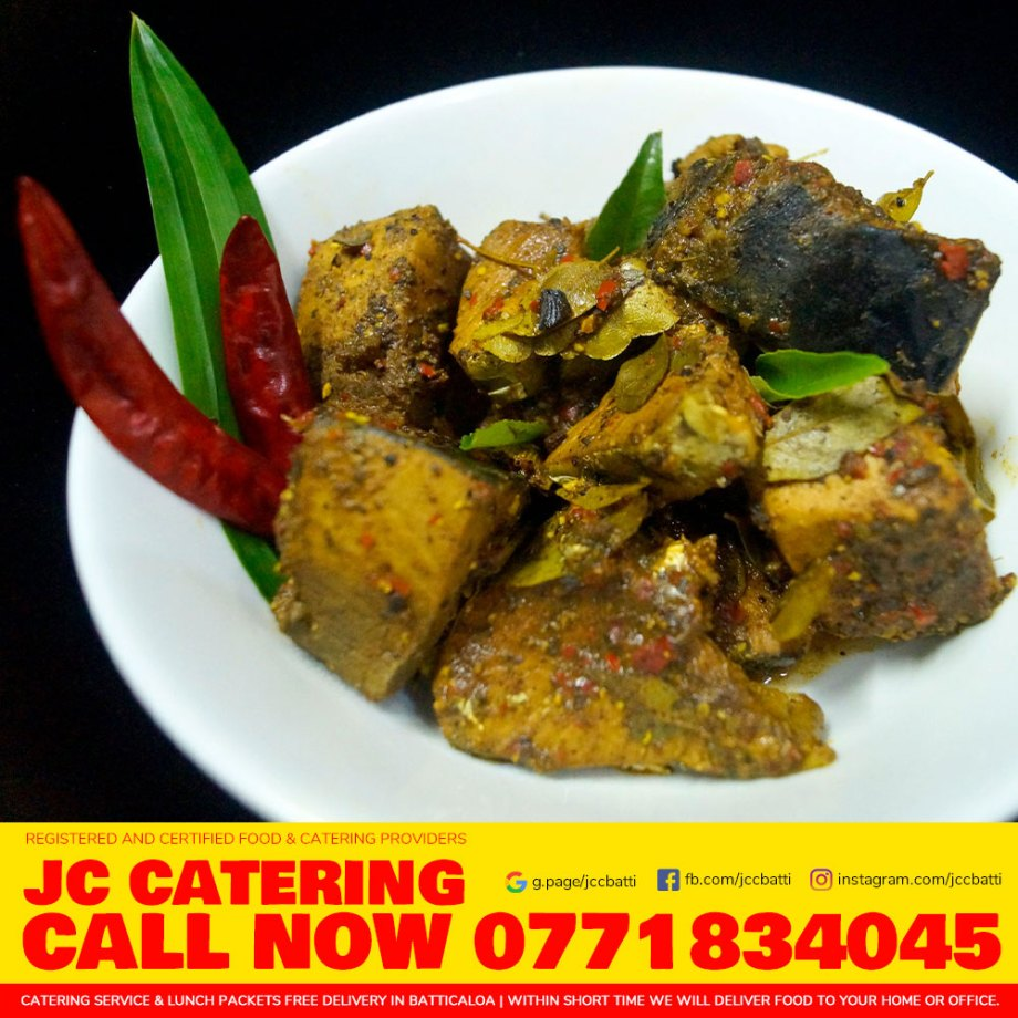 Ambulthiyal Lunch Pack | Sri Lankan Sour Fish Curry Lunch