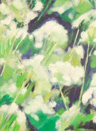 2002 - Huile / Floral 001
