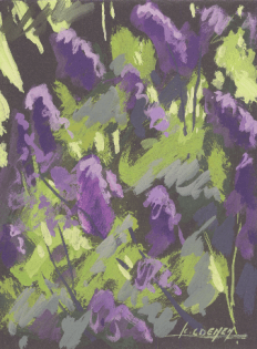 2006 - Gouache / Floral 001