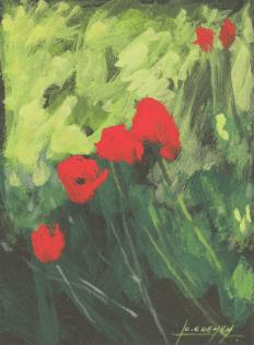 2006 - Gouache / Floral 002