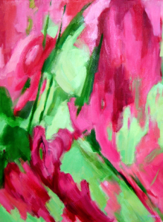 2009 - Huile / Floral 001
