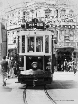 the nostalgic tram…