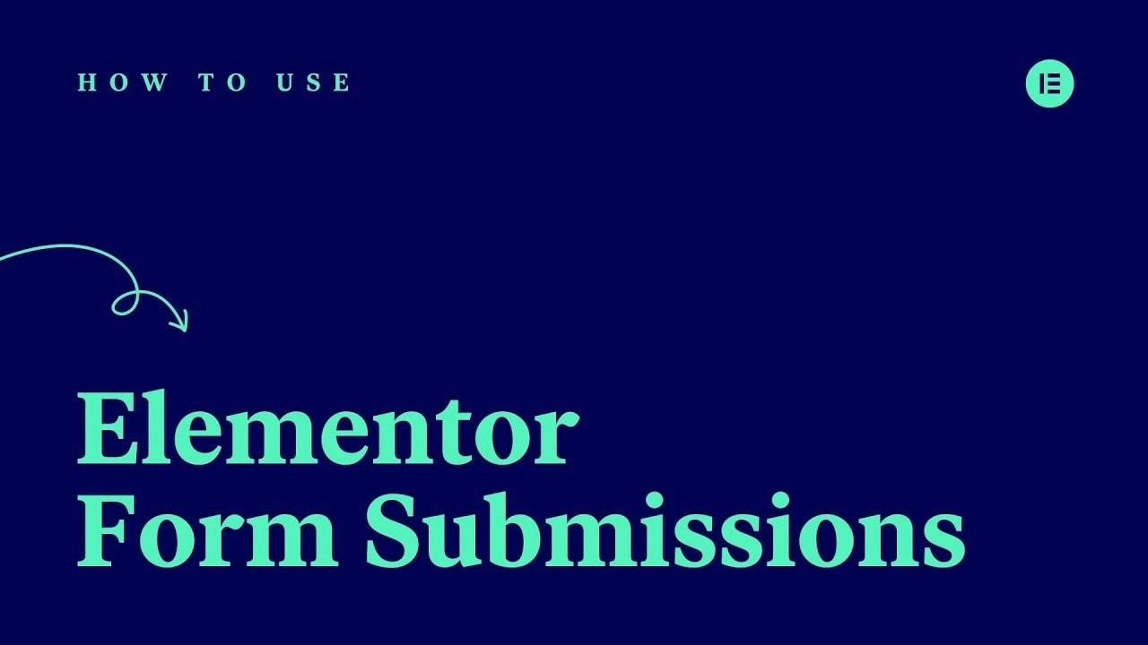 elementor form submissions cover image