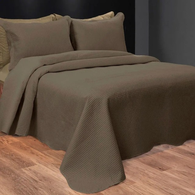 cobre leito elegance lisa marrom