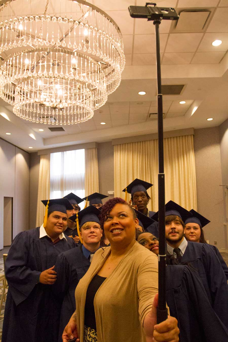 JCFA graduates earn a high school diploma, not a GED.