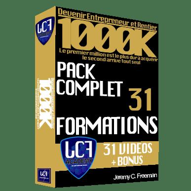 Formation 1000K pack complet