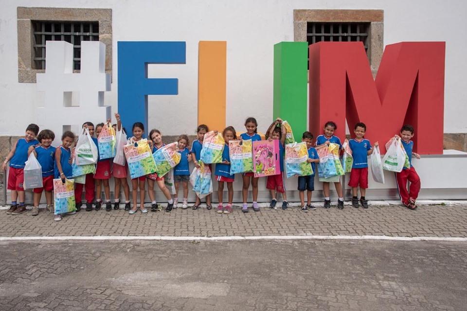 Foto na placa FLIM