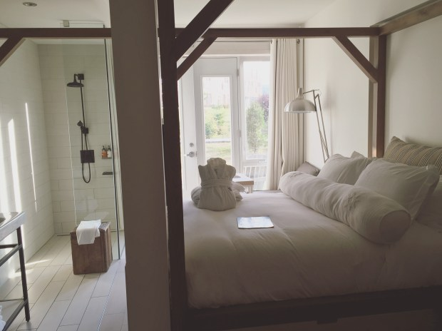 Shiplap dreams - Each hotel room has a different design that you get to choose!