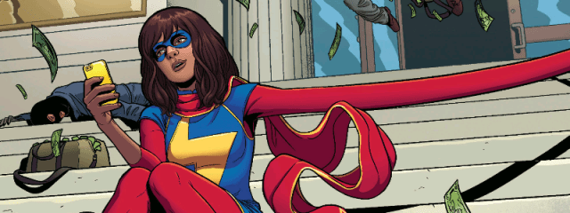 Ms Marvel Generation Why? cover.