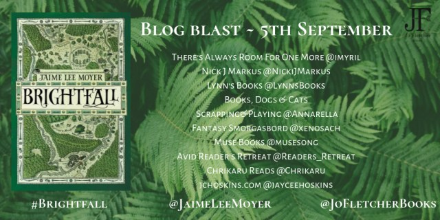 Brightfall Blog Blast - 5th September