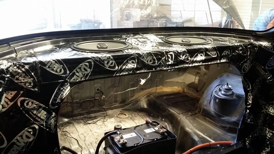 Battery Relocation, Sound Deadening, Speaker Installation, Full Custom Install!